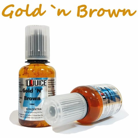 Gold `n`Brown Aroma 30ml by T Juice MHD 09/19!