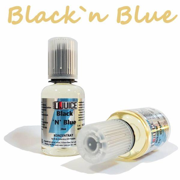 Black `n` Blue Aroma 30ml by T Juice  MHD 10/19!