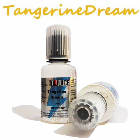 Tangerine Dream Aroma 30ml by T Juice MHD 10/19!