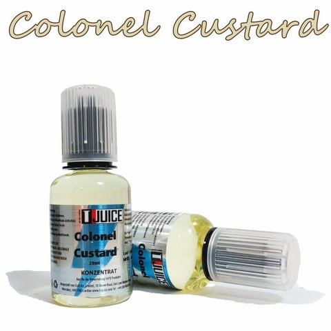Colonel Custard  Aroma 30ml by T Juice MHD 12/19!