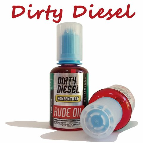 Rude Oil Dirty Diesel Aroma 30ml by T Juice