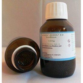 LAGUNA Iod/ Iodine BP/USP 1000g CAS 7553-56-2 in Braunglasflasche