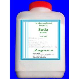 1 kg Natriumcarbonat, beste Lebensmittelqualität E500i SODA Flasche
