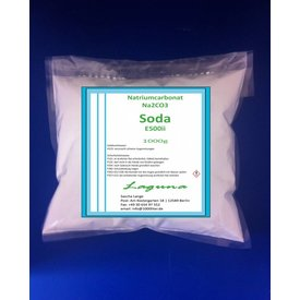 1 kg Natriumcarbonat NACHFÜLLPACK, beste Lebensmittelqualität E500i SODA