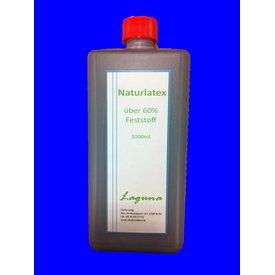1 Liter LATEX Schwarz Latexmilch Naturgummi Flüssig flüssiges Liquid Gummimilch