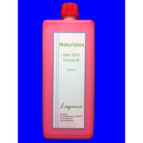 1 Liter LATEX ROT Latexmilch Naturgummi Flüssig flüssiges Liquid Gummimilch