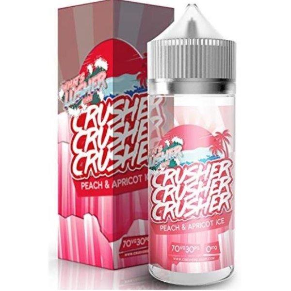 CRUSHER Peach & Apricot ICE (100ml) Plus e Liquid by Crusher Nikotinfrei …