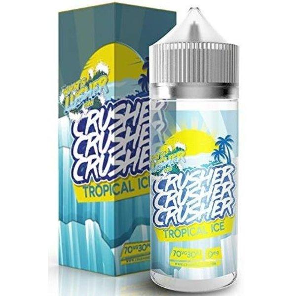 CRUSHER Tropical ICE (100ml) Plus e Liquid by Crusher Nikotinfrei