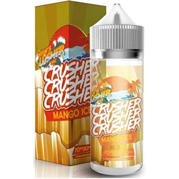 CRUSHER Mango ICE (100ml) Plus e Liquid by Crusher Nikotinfrei