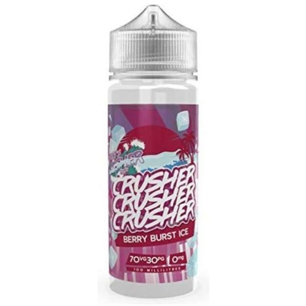 CRUSHER Berry Burst ICE (100ml) Plus e Liquid by Crusher Nikotinfrei