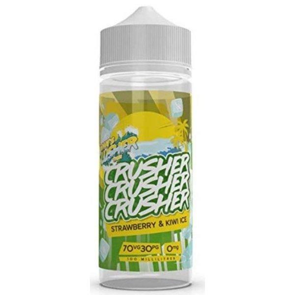 CRUSHER Strawberry Kiwi ICE (100ml) Shortfill Liquid by Crusher Nikotinfrei