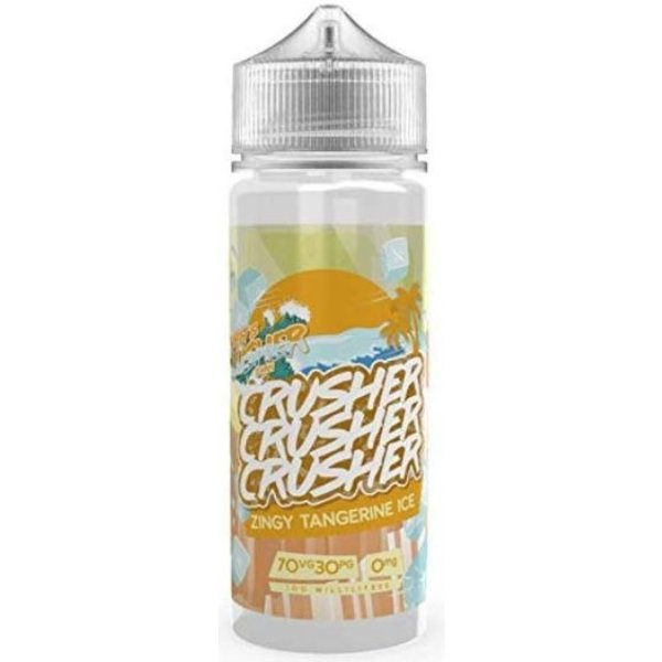 CRUSHER Zingy Tangerine ICE (100ml) Plus e Liquid by Crusher Nikotinfrei
