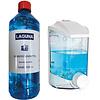 100 x 1L Desinfektionsmittel Laguna DesVir 1000ml + Spender