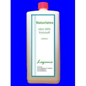 LAGUNA 1 Liter Latex Schwarz Rubber Latexmilch Naturgummi flüssig Gummi