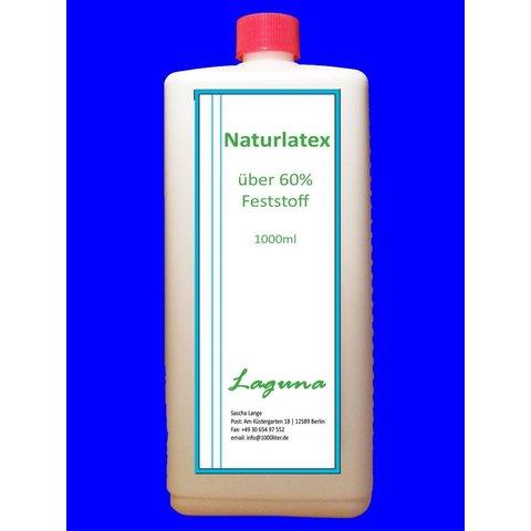 1 Liter Latex Schwarz Rubber Latexmilch Naturgummi flüssig Gummi