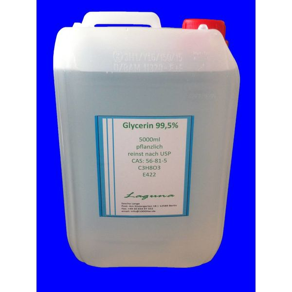 5 Liter Glycerin ) E422 reinst nach USP 99,5% C3H8O5