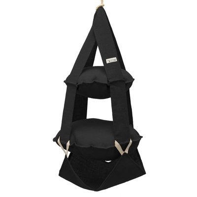 2p trapeze jute black