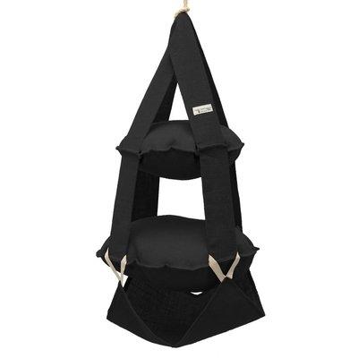 The Cat's Trapeze 2p trapeze jute black