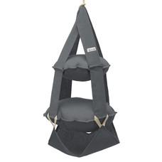 The Cat's Trapeze 2k trapeze jute grijs