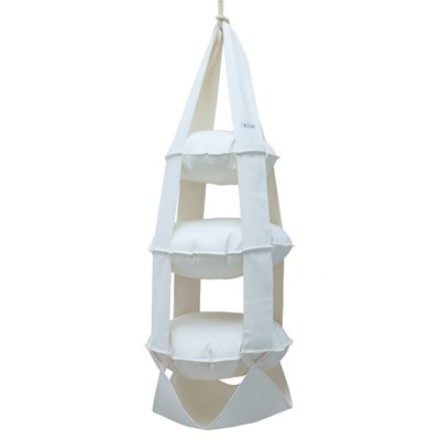 3p Trapeze cotton bleached (white)