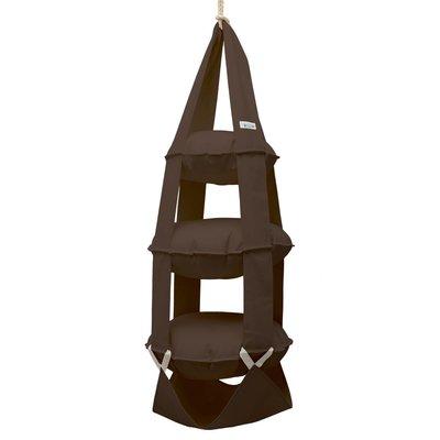 3k trapeze katoen bruin