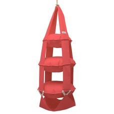 3p Trapeze cotton red