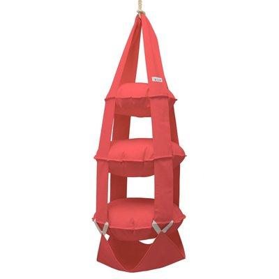 The Cat's Trapeze 3k trapeze katoen rood