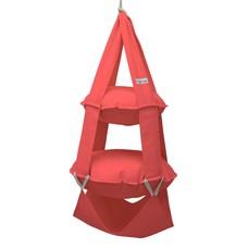 2k trapeze katoen rood
