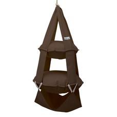 2p trapeze cotton brown