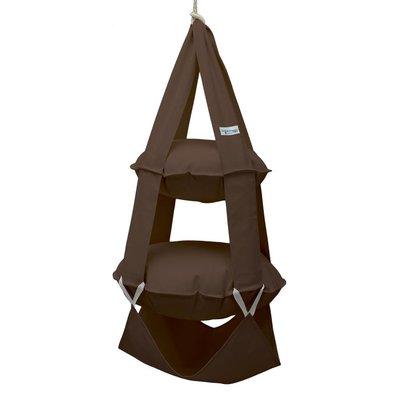 2k trapeze katoen bruin