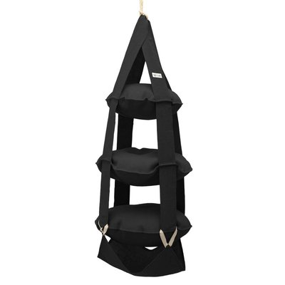 The Cat's Trapeze 3p Trapeze jute black