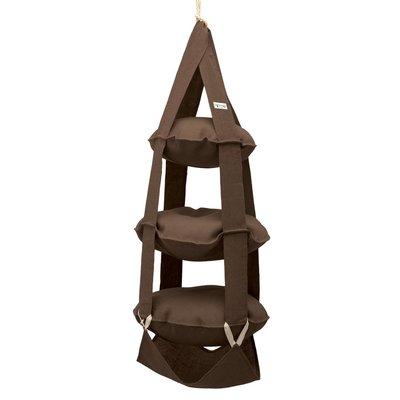 3p Trapeze jute brown