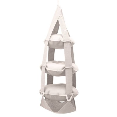 The Cat's Trapeze 3k Trapeze jute white wash