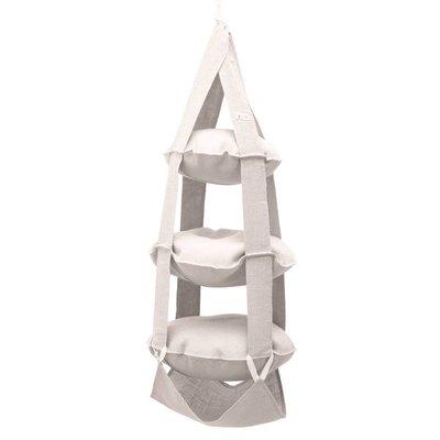 The Cat's Trapeze 3p Cat's Trapeze jute white wash