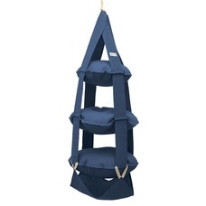 The Cat's Trapeze 3p trapeze jute blue
