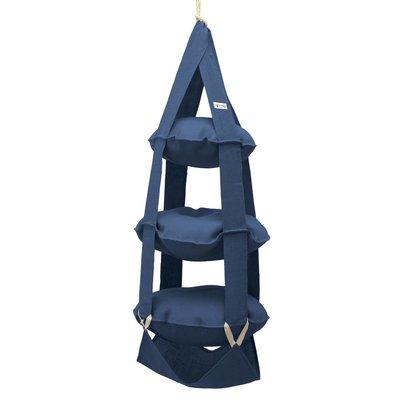 The Cat's Trapeze 3k trapeze jute blauw