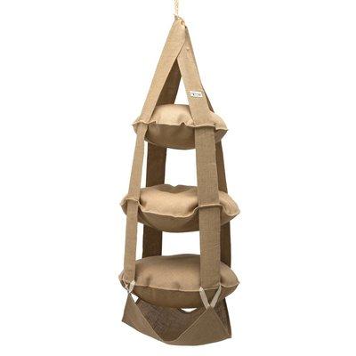 The Cat's Trapeze 3p trapeze natural jute