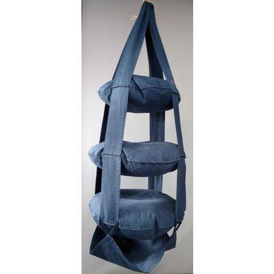 3p Trapeze cotton Jeans blue washed