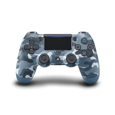 PS4 Wireless DualShock 4 Controller V2 Blue Camouflage