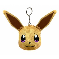Merchandise Pluche Sleutelhanger Eevee, Pokemon Let's Go