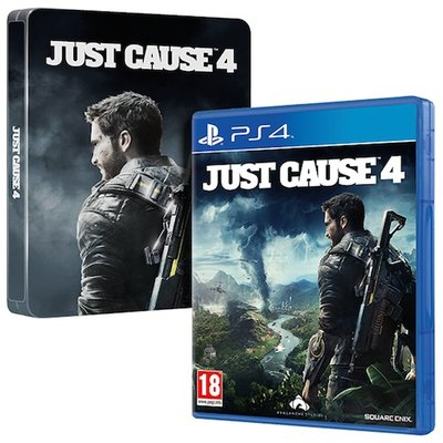 PS4 Just Cause 4 - Steelbook Edition