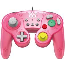 Switch Hori, Smash Bros Gamepad - Peach