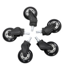 PC AKRACING Rollerblade Casters - White