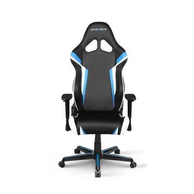 PC DXRacer - RACING R288-NBW Gaming Chair (Zwart / Blauw / Wit)