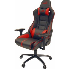 Gear Speedlink, ARIAC Gaming Chair Premium - Zwart / Rood