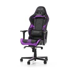 PC DXRacer - RACING PRO R131-NV Gaming Chair (Zwart / Paars)