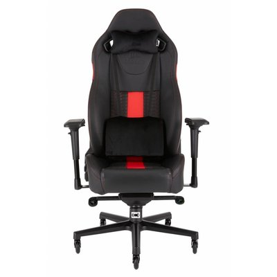 PC Corsair T2 ROAD WARRIOR - High Back Desk and Office Chair - Black / Red