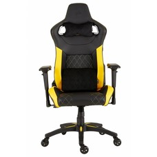 Gear Corsair T1 RACE (2018) - Gaming Chair, High Back Desk and Office Chair - Black / Yellow