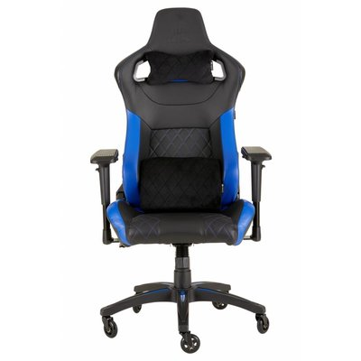 Gear Corsair T1 RACE (2018) - Gaming Chair, High Back Desk and Office Chair - Black / Blue