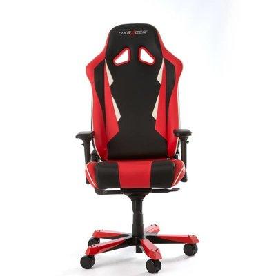 Gear DXRacer - SENTINEL S28-NR Gaming Chair (Zwart / Rood)